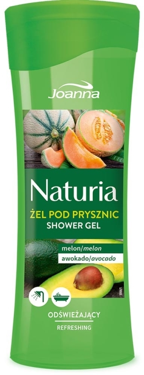 """Sprchový gel """"Meloun a avokádo"""" - Joanna Naturia Melon and Avocado Shower Gel"""