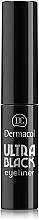 Parfémy, Parfumerie, kosmetika Oční linka - Dermacol Ultra Black Eyeliner