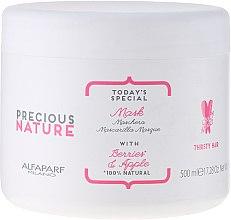 """Parfémy, Parfumerie, kosmetika Maska pro suché a matné vlasy, """"Bobule a jablko"""" - Alfaparf Precious Nature Mask for Thirsty Hair"""