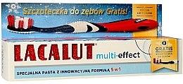 """Parfémy, Parfumerie, kosmetika Zubní pasta """"Multi-Effect"""" - Lacalut (Toothpaste/75ml + zubní kartáček)"""
