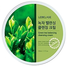 Parfémy, Parfumerie, kosmetika Čisticí pleťový krém - Lebelage Green Tea Balancing Cleansing Cream