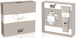Parfémy, Parfumerie, kosmetika Montblanc Signature - Sada (edp/50ml + b/lot/100ml)
