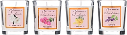 Parfémy, Parfumerie, kosmetika Sada aromatických svíček - Ambientair Le Jardin de Julie