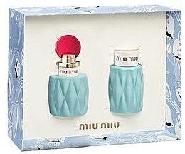 Parfémy, Parfumerie, kosmetika Miu Miu Miu Miu - Sada (edp/50ml + b/lot/100ml)