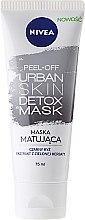 Parfémy, Parfumerie, kosmetika Fóliová maska na obličej - Nivea Urban Skin Detox Peel-Off Mask