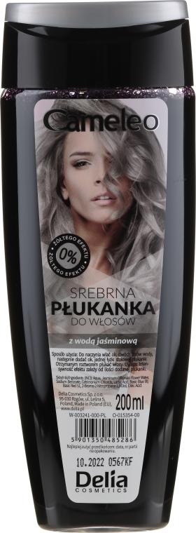 Stříbrný přeliv na vlasy s jasmínovou vodou - Delia Cosmetics Cameleo