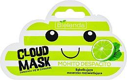 """Parfémy, Parfumerie, kosmetika Maska-obláček na obličej """"Mojito"""" - Bielenda Cloud Mask Mohito Despacito"""