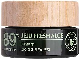 Parfémy, Parfumerie, kosmetika Hydratační osvěžující krém s aloe vera 89% - The Saem Jeju Fresh Aloe Cream