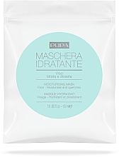Parfémy, Parfumerie, kosmetika Hydratační látková maska na obličej - Pupa Maschera Idratante Viso