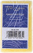 Parfémy, Parfumerie, kosmetika Syntetická oboustranná pemza, žlutá, 71034 - Top Choice