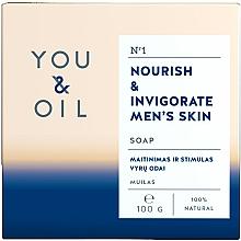 Parfémy, Parfumerie, kosmetika Vyživující pánské mýdlo - You & Oil Nourish & Invigorate Men