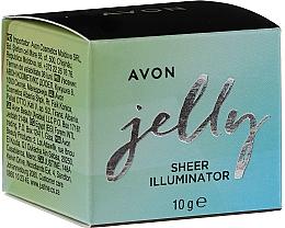 Parfémy, Parfumerie, kosmetika Rozjasňovač pro obličej a tělo - Avon Jelly Sheer Illuminator