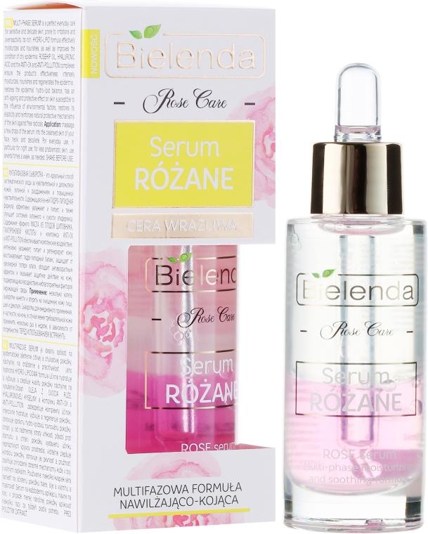 Dvoufázové sérum na obličej - Bielenda Rose Care Serum For Sensitive Skin — foto N1