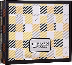 Parfémy, Parfumerie, kosmetika Trussardi Riflesso - Sada (edt/50ml + show/gel/100ml)