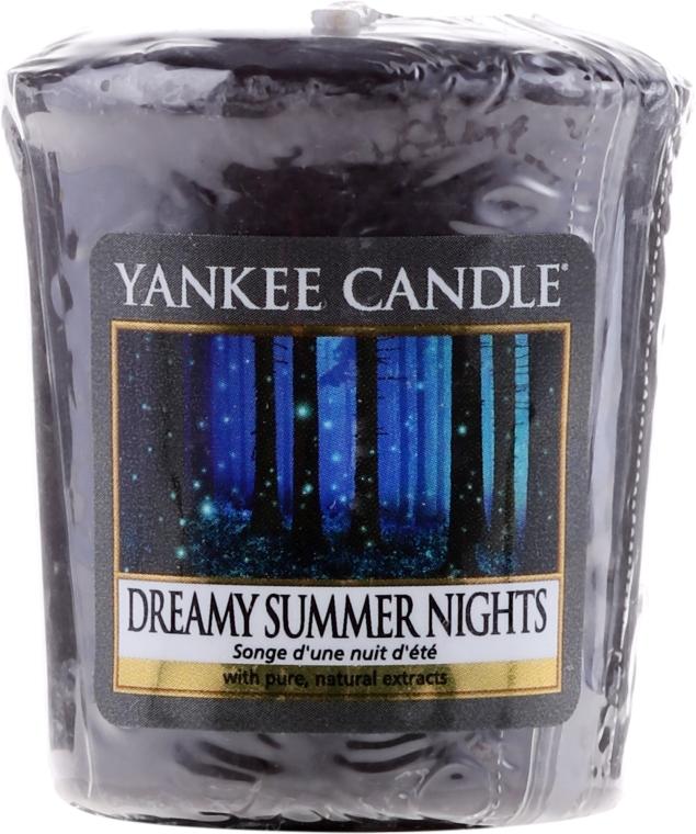 """Aromatická svíčka """"Báječné letní noci"""" - Yankee Candle Scented Votive Dreamy Summer Nights — foto N1"""