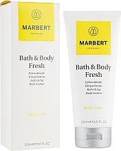 Parfémy, Parfumerie, kosmetika Osvěžující lotion na tělo s vůní citrusů - Marbert Bath & Body Fresh Refreshing Body Lotion