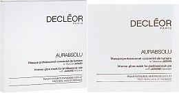 Parfémy, Parfumerie, kosmetika Maska pro intenzivní záři pokožky - Decleor Aurabsolu Intense Glow Mask