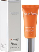 Parfémy, Parfumerie, kosmetika Obnovující gel-krém na kontury oči - Natura Bisse C+C Vitamin Eye