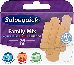 Parfémy, Parfumerie, kosmetika Rodinná sada náplastí - Salvequick Family Mix