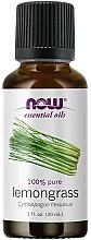 Parfémy, Parfumerie, kosmetika Esenciální olej Citronová tráva - Now Foods Essential Oils 100% Pure Lemongrass