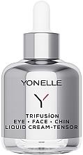 Parfémy, Parfumerie, kosmetika Omlazující krém den-noc na obličej a oční okolí - Yonelle Trifusion Eye-Face-Chin Liquid Cream Tensor