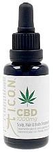 Parfémy, Parfumerie, kosmetika Olej na vlasy, tělo a pokožku hlavy - I.C.O.N. Organic CBD Oil 1000 mg Scalp Hair & Body Treatment