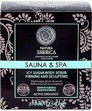 """Parfémy, Parfumerie, kosmetika Ledový cukrový peeling na tělo """"Pro snazší hubnutí"""" - Natura Siberica"""