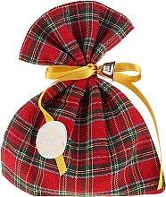 Parfémy, Parfumerie, kosmetika Aromatický pytlík, skotský vzor, eukalyptus - Essencias De Portugal Tradition Charm Air Freshener