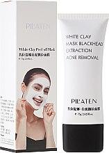 """Parfémy, Parfumerie, kosmetika Maska na obličej """"Bílá hlína"""" - Pilaten White Clay Mask Blackhead Extraction Acne Removal"""