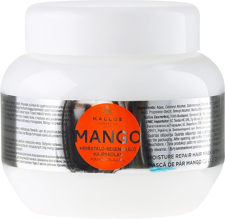 """Maska na vlasy """"Mango"""" - Kallos Cosmetics Mango"""