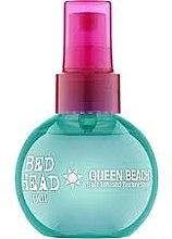 Parfémy, Parfumerie, kosmetika Ochranný sprej s obsahem mořské soli pro vytvoření plážových vln. - Tigi Bed Head Queen Beach Salt Infused Texture Spray