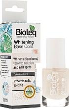 Parfémy, Parfumerie, kosmetika Bělicí lak na nehty - Bioteq Whitening Base Coat