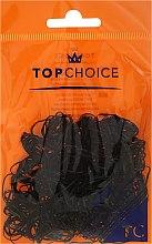 Parfémy, Parfumerie, kosmetika Gumičky do vlasů 22722, černé - Top Choice