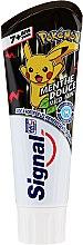 Parfémy, Parfumerie, kosmetika Dětská zubní pasta, černá - Signal Junior Pokemon Toothpaste