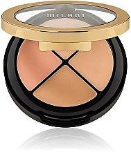 Parfémy, Parfumerie, kosmetika Sada korektoru na obličej - Milani Conceal Perfect All-In-One Concealer Kit