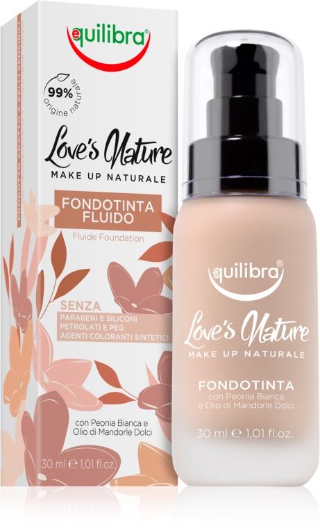 Tekutý make-up - Equilibra Liquid Foundation Fluid