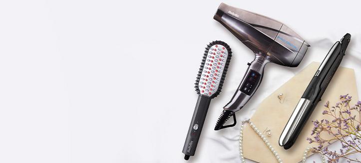 Získej kartáč na narovnání vlasů jako dárek k nákupu výrobků Babyliss v hodnotě nad 1280 Kč