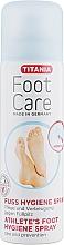 Parfémy, Parfumerie, kosmetika Sprej na chodidla, ochranný, proti houbovým infekcím - Titania Foot Care Spray