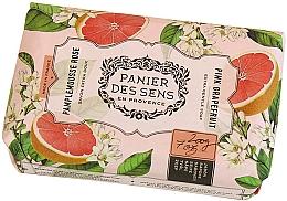Parfémy, Parfumerie, kosmetika Extra jemné mýdlo s bambuckým máslem Grapefruit - Panier des Sens Shea Butter Soap Bar Pink Grapefruit