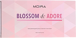 Parfémy, Parfumerie, kosmetika Paletka tvářenek - Moira Blossom & Adore Blush Palette