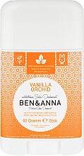 "Parfémy, Parfumerie, kosmetika Deodorant na základě sodovky ""Vanilka a orchidej"" (plast) - Ben & Anna Natural Soda Deodorant Vanilla Orchid"
