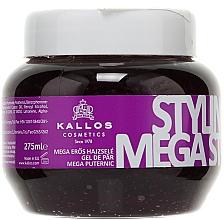 Parfémy, Parfumerie, kosmetika Gel pro styling vlasů megasilné fixace - Kallos Cosmetics Styling Gel Mega Strong