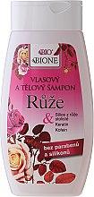 Parfémy, Parfumerie, kosmetika Šampon na vlasy Růže - Bione Cosmetics Rose Shampoo