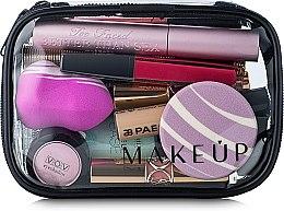 """Parfémy, Parfumerie, kosmetika Transparentní kosmetická taštička """"Visible Bag"""" 15x10x5cm (bez kosmetických prostředků) - MakeUp"""