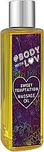 Parfémy, Parfumerie, kosmetika Masážní olej Sweet temptation - New Anna Cosmetics Body With Luv Massage Oil Sweet Temptation