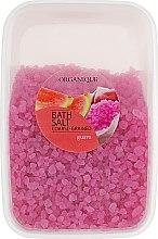 "Parfémy, Parfumerie, kosmetika Koupelová sůl, velké granule ""Guava"" - Organique Bath Salt Dead Sea"