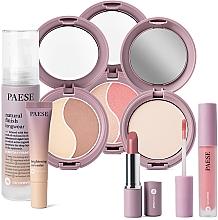 Parfémy, Parfumerie, kosmetika Sada - Paese 15 Nanorevit (found/35ml + conc/8.5ml + lip/stick/4.5ml + powder/9g + cont/powder/4.5g + powder/blush/4.5g + lip/stick/2.2g)