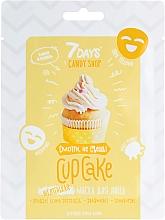 Parfémy, Parfumerie, kosmetika Pleťová maska Cupcake s banánem a vanilkou - 7 Days Candy Shop