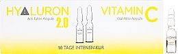 Parfémy, Parfumerie, kosmetika Ampule na obličej - Alcina Hyaluron 2.0 & Vitamin C Ampulle
