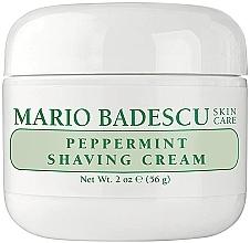 Parfémy, Parfumerie, kosmetika Krém na holení s mátou - Mario Badescu Peppermint Shaving Cream